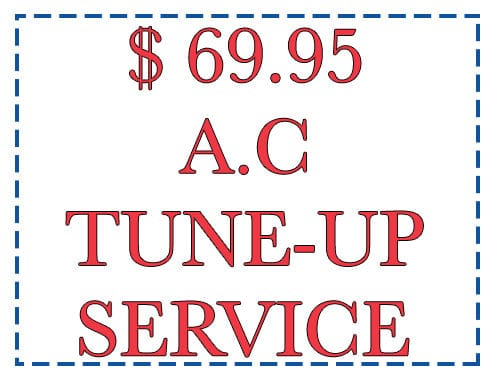 Ac Tune Up Special Offer